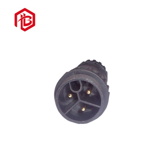 Screw Type Waterproof M23 Long Power Plug