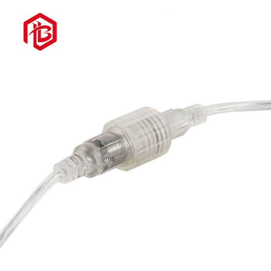 Transparent Waterproof DC Connector with Wire