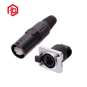 4 Pin LED Waterproof Electrical Aviation Connector