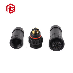 High Quality 3pin 4pin Male and Female Waterproof Assembled Connector